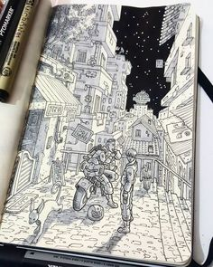 50+ Sketchbook Inspiration Examples That Will Change The Way You Use Your Sketchbooks - How to Draw Step by Step Drawing Tutorials