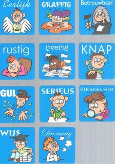 Ik ben... -kaartjes om kinderen zelf te laten nadenken over hun eigen kwaliteiten. (deel 4)