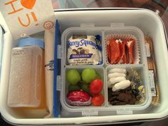 This woman has great lunches packed for her child. Helpful for me to look at for ideas, even though our boys will be at home for lunch next year.