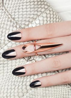 Show off your sultry demeanor with these ultra chic nail wraps that will leave your nails on point.