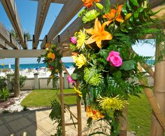 Have Your Wedding Ceremony Gulf Front In The Pergola At Hilton Pensacola Beach Hotel
