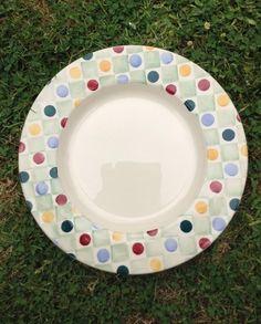 Emma Bridgewater Polka Dot Studio Special inch Plate for Collectors Day Dresser Inspiration, Pottery Cafe, Love You Dad, Emma Bridgewater, Polka Dot, Kitchen Dresser, Ceramics, Tableware, Bees