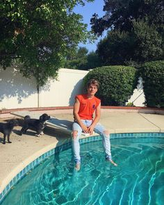 "101.7k Likes, 2,035 Comments - @froy on Instagram: ""pool ft. pups ft. a stellar jersey from the best frans out there ➖⚡️➖"""