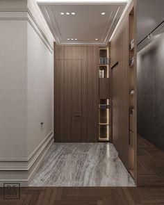 DE&DE PROJEC Hallway Designs, Foyer Design, Home Room Design, Deco Design, Wall Design, Living Room Designs, House Design, Dream House Interior, Luxury Homes Interior