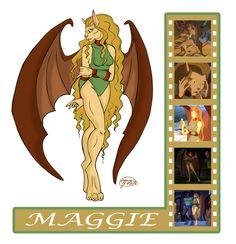 Gargoyle Study: Maggie The Cat by evollusive.deviantart.com on @deviantART