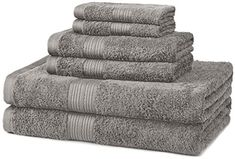 Fade-Resistant Cotton Bathroom Towel Set Informations About Fade-Resistant 100 Percent Cotto Best Bath Towels, Bath Towel Sets, Hand Towels, Bathroom Bath, Bathroom Towels, Bathroom Things, Bathrooms, Bath Linens, Cotton Towels