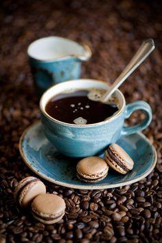 Cafè i Macaroons.