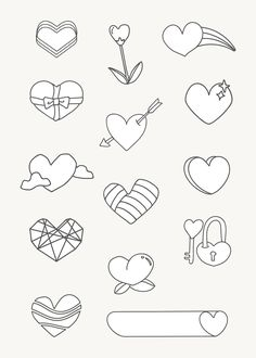 Website Design Tips Anyone Can Understand And Use Images For Valentines Day, Happy Anniversary Cards, Geometric Heart, Heart Wallpaper, Lettering, Free Illustrations, Icon Design, Graphic Illustration, Free Design