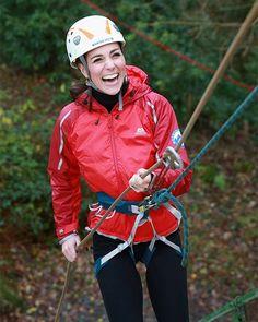El lado más aventurero de la Duquesa de Cambridge