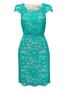 Austin Dress in Turquoise