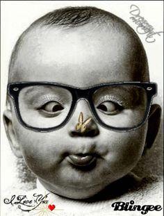 Ohne Worte #Baby #Brille