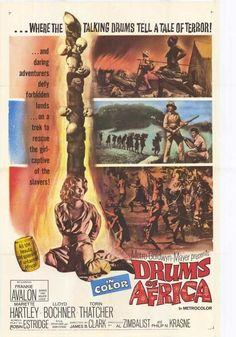 Drums Of Africa (1963) - Frankie Avalon DVD