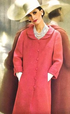 "fashion-of-the-60s: "" Bettina Lauer for Günther Moden (Germany), June 1965. (x) """
