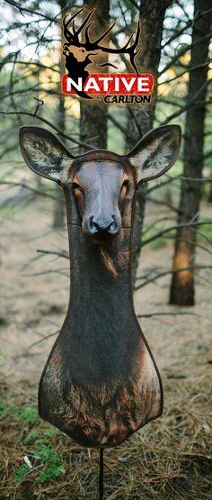 "Elk Decoy 3 dimensional ""Butthead Decoy"""