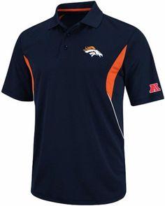 Denver Broncos Team Apparel Field Classic Dri Fit Polo Shirt Big & Tall Sizes #DenverBroncos