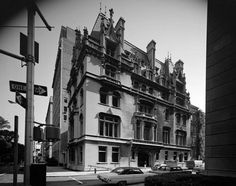 The Jewish Museum was founded in 1904, in the library of The Jewish Theological Seminary. In 1944, the museum moved to the Warburg family mansion at 1109 Fifth Avenue at 92nd Street, a French chateau-style home designed by C.P.H. Gilbert