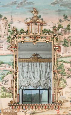 By: Thomas Chippendale, Date: Late 1770s, Location: East Bedroom, Harewood House, Yorkshire, England