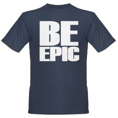 Be Epic Organic Mens T-Shirt (dark)