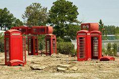 9 Fake Stonehenge Sites (Almost) as Cool as the Original: Phonehenge, South Carolina. Photo by Sam Howzit