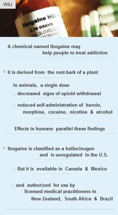 Chemical #Ibogaine may help people treat #addiction #drugs #vc #health #healthcare #startup http://arzillion.com/S/hTv3un