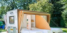 """This is my idea of """"roughing it!""""  The Urban Camper - The Markies Designed by Eduard Bohtlingk"""
