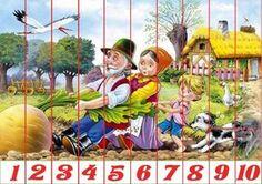 Puzzles recortables con motivos de cuentos. Estos puzzles son muy fáciles de hacer porque están acompañados de números. Mírame y aprenderás en Facebook Autumn Activities For Kids, Color Activities, Preschool Activities, Fairy Tale Activities, Kindergarten, Writing Pictures, Traditional Tales, Dora, Teacher Helper