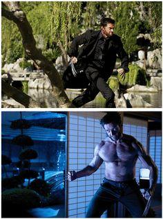 The Wolverine - Hugh Jackman. Just saw this movie. Hugh is the bidness