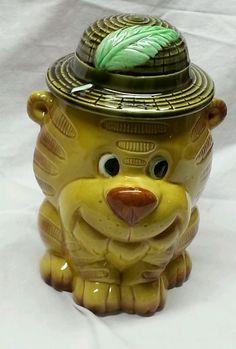 1950's Cookie Jars Vintage Cat Cookie Jar Rare 1950S Los Angeles Pottery Co  Pinterest