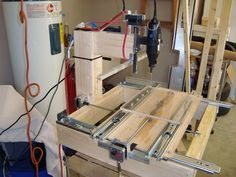 Building a drawer slide CNC machine for under $200! - All