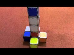 Small cubes Robot that self-assemble by robotics laboratory CSAIL MIT / 自組裝的小型立方體機器人 by MIT #Robot #Cube #SelfAssembly