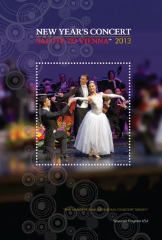 Sneak Peek at 2013. Cover of the 2013 concert series souvenir program book distributed to patrons in 20 major concert halls in North America. From Quebec City to SanDiego, Vancouver to Miami.
