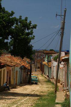 Trinidad,Ernesto Media Luna Street, Cuba by Photos Girados, via Flickr