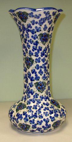 Boleslawiec Polish Pottery - Vase