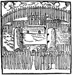 Aldeia tupinambá fortificada