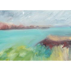 Abstract Nature, Menorca, Seascape Paintings, Image Shows, Sticks, Weather, Oil, Paper, Artwork