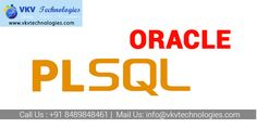 Oracle PL/SQL Training in Chennai - No.1 Oracle PL SQL Training Centers in Chennai offers PLSQL Training with 100% Results. Call +91-8489848461 and Start your career at Vkvtechnologies.in http://www.vkvtechnologies.in/oracle-plsql-training-in-chennai.php