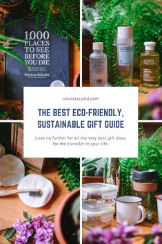 The Best Gift Ideas For Travellers - A Sustainable, Eco Friendly Guide - What Stacy Did What do you get for the travel loving person in your life? Here are some of my favourite sustainable, eco-friendly gift . Travel Advice, Travel Tips, Travel Guides, Travel Abroad, Travel Destinations, Best Travel Gifts, Best Gifts, Responsible Travel, Sustainable Gifts
