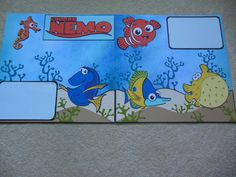 Finding Nemo layout for Disneyland Album using Best of Pixar cartridge.