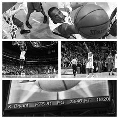 Today is the 6th anniversary of Kobe Bryant s 81-point game. No wonder when 91d995b66