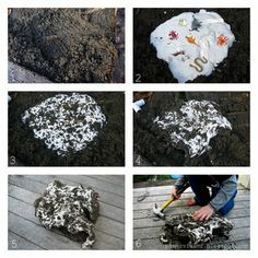 PaperVine: Got Kids? Make your own Dinosaur Fossils! We could do this in your backyard for Eli to dig up! Dinosaur Dig, Dinosaur Crafts, Dinosaur Fossils, Dinosaur Party, Dinosaur Toys, Dinosaur Birthday, Projects For Kids, Crafts For Kids, Archaeology For Kids