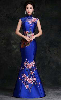 Chinese Dresses Clothing China Fashion Africa Diamond Dress Feminine