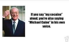 """From a fan. Great, now I'm walking around saying """"My Cocaine"""" like a lunatic."""