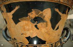 Herakles Antaios Louvre