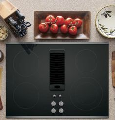 "$1267 GE Profile 30"" Downdraft Electric Stainless Steel Cooktop PP9830SJSS #GE"