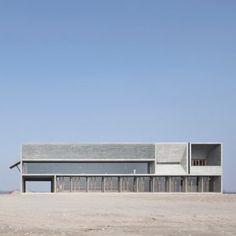 Vector+Architects+completes+a+seaside+library+with+board-marked+concrete+walls