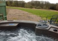 Romantic Forest View Hot Tub Forest Cabin, Forest View, Countryside, Tub, Boat, Romantic, Gallery, Holiday, Bathtub