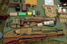 M1 Garand , the rifle credited for winning WW2 !