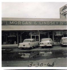 """Beth Ford recently shared with me a photo of the Morgan & Lindsey Department Store, located at 1521 Metairie Road from the through the """"I worked there after school in she said. In two Morgan brothers and."""