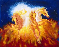 ELIJAH: My God is Jehovah.  Elijah was one of the greatest prophets of the Old Testament. He prophesied during the reign of Ahab. Elijah performed many miracles including restoring a widow's dead son to life. Elijah did not die, but was taken directly to heaven in a chariot of fire. Elisha was the successor of Elijah.