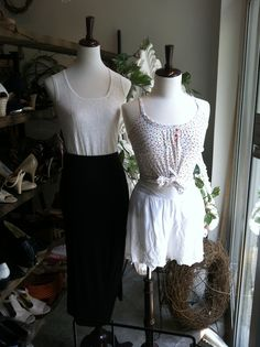 Light and flowy for those hot summer days. Store Mannequins, Summer Days, Hot